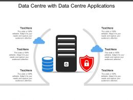Data Centre With Data Centre Applications