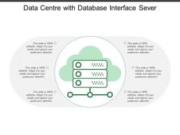 Data Centre With Database Interface Sever