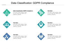 Data Classification GDPR Compliance Ppt Powerpoint Presentation Outline Example Topics Cpb