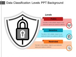 Data Classification Levels Ppt Background