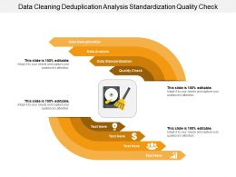 Data Cleaning Deduplication Analysis Standardization Quality Check