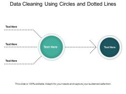 Data Cleaning Using Circles And Dotted Lines