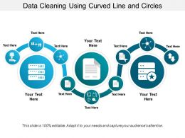 Data Cleaning Using Curved Line And Circles