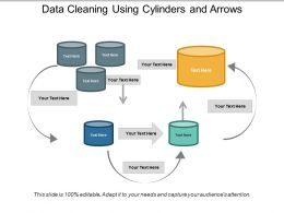 Data Cleaning Using Cylinders And Arrows