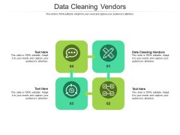 Data Cleaning Vendors Ppt Powerpoint Presentation Model Designs Download Cpb