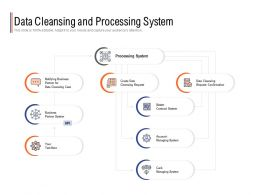 Data Cleansing And Processing System