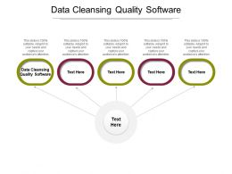 Data Cleansing Quality Software Ppt Powerpoint Presentation Summary Guidelines Cpb