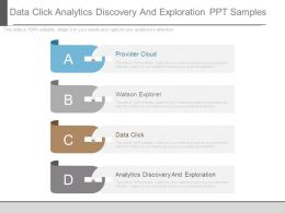 Data Click Analytics Discovery And Exploration Ppt Samples