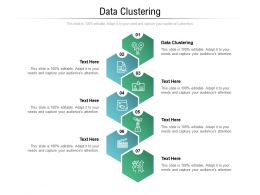 Data Clustering Ppt Powerpoint Presentation Icon Objects Cpb