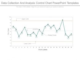 Data Collection And Analysis Control Chart Powerpoint Templates
