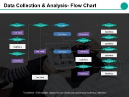 Data Collection And Analysis Flow Chart Ppt Styles Gallery