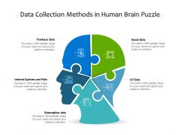 Data Collection Methods In Human Brain Puzzle
