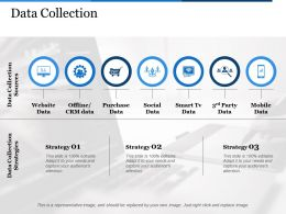 Data Collection Offline Crm Data Ppt Show Background Images