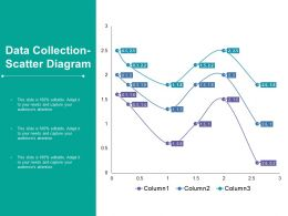 Data Collection Scatter Diagram Ppt Styles Infographics