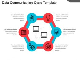 data_communication_cycle_template_powerpoint_slide_Slide01