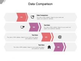 Data Comparison Ppt Powerpoint Presentation Infographics Good Cpb