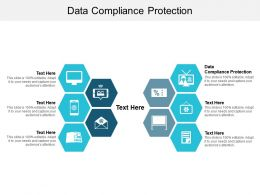 Data Compliance Protection Ppt Powerpoint Presentation Slides Format Ideas Cpb