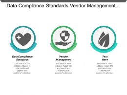 Data Compliance Standards Vendor Management Digital Advertising Analytics Cpb
