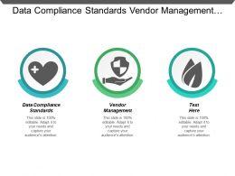 Data Compliance Standards Vendor Management Digital Advertising Analytics Cpb