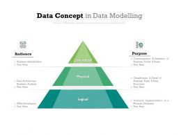 Data Concept In Data Modelling