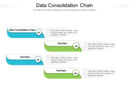 Data Consolidation Chain Ppt Powerpoint Presentation Visual Aids Pictures