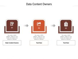 Data Content Owners Ppt Powerpoint Presentation Show Structure Cpb
