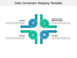 Data Conversion Mapping Template Ppt Powerpoint Presentation Outline Good Cpb