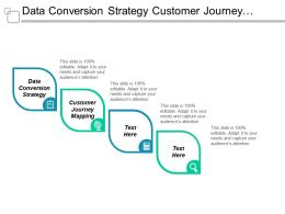 Data Conversion Strategy Customer Journey Mapping Asset Management Cpb