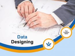 Data Designing Powerpoint Presentation Slides