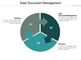 Data Document Management Ppt Powerpoint Presentation Outline Topics Cpb