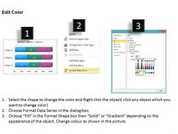 Data Driven 3d Bar Chart For Business Information Powerpoint Slides