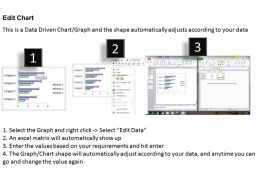 Data Driven 3D Bar Chart For Business Statistics Powerpoint Slides