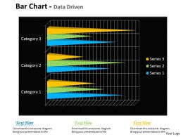 Data Driven 3D Bar Chart For Financial Markets Powerpoint slides