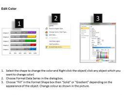 Data Driven 3d Bar Chart To Put Information Powerpoint Slides