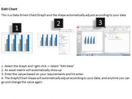 Data Driven 3D Business Data On Regular Intervals Powerpoint Slides