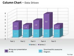 data_driven_3d_chart_to_monitor_business_process_powerpoint_slides_Slide01