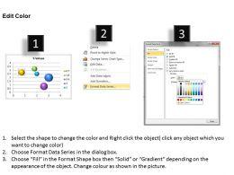 Data Driven 3D Interactive Bubble Chart Powerpoint slides