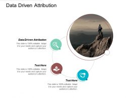 Data Driven Attribution Ppt Powerpoint Presentation File Shapes Cpb