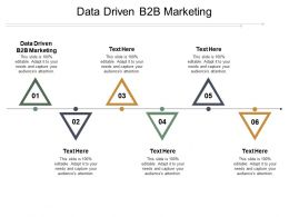 Data Driven B2B Marketing Ppt Powerpoint Presentation File Graphic Tips Cpb