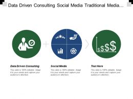 Data Driven Consulting Social Media Traditional Media Pricing Objective