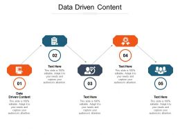 Data Driven Content Ppt Powerpoint Presentation Layouts Picture Cpb