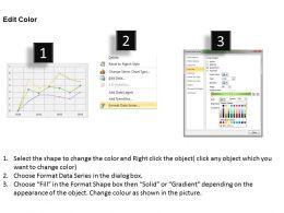 Data Driven Line Chart Business Graph Powerpoint Slides