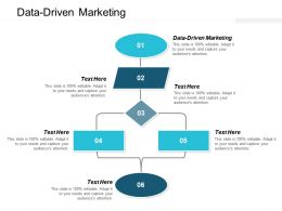 Data Driven Marketing Ppt Powerpoint Presentation Outline Portfolio Cpb