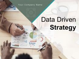 Data Driven Strategy Analytics Technology Approach Corporate