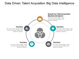 Data Driven Talent Acquisition Big Data Intelligence Ppt Powerpoint Presentation Styles Example Cpb