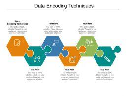 Data Encoding Techniques Ppt Powerpoint Presentation Summary Example Topics Cpb