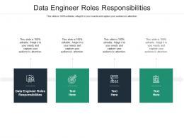 Data Engineer Roles Responsibilities Ppt Powerpoint Presentation Portfolio Background Designs Cpb