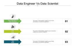 Data Engineer Vs Data Scientist Ppt Powerpoint Presentation File Graphics Template Cpb