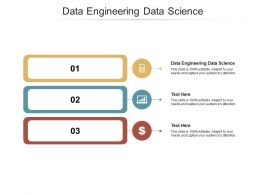 Data Engineering Data Science Ppt Powerpoint Presentation Summary Slides Cpb