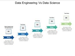 Data Engineering Vs Data Science Ppt Powerpoint Presentation Icon Files Cpb